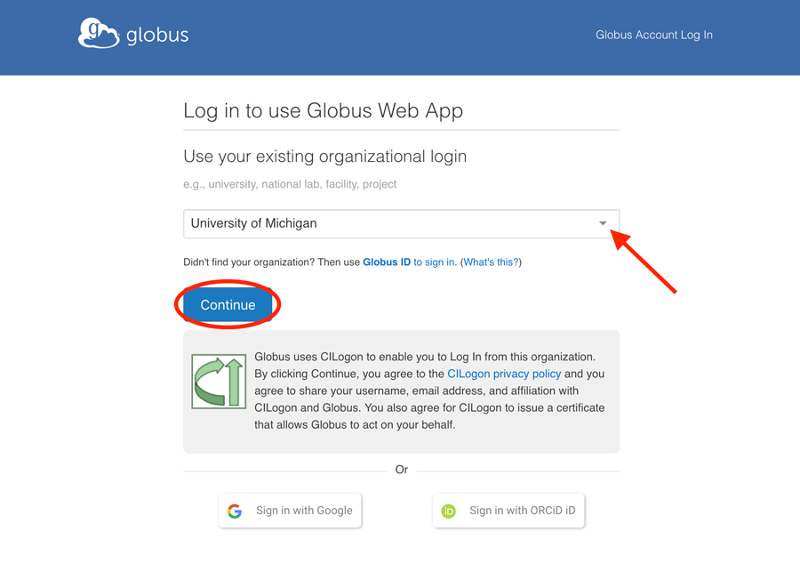 How To Log In and Transfer Files with Globus